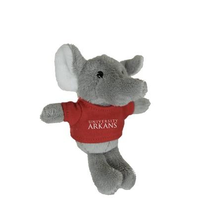 University of Arkansas 4in Plush Elephant Magnet