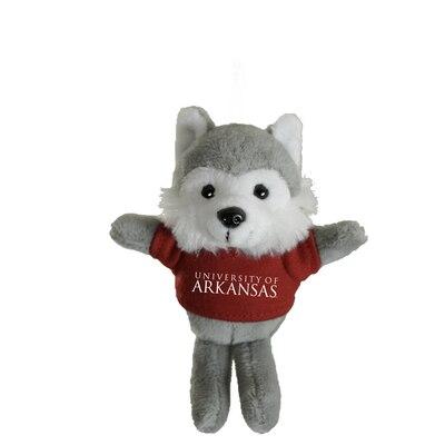 University of Arkansas 4in Plush Husky Magnet