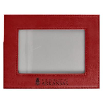 "University of Arkansas 4"" X 6"" Velour Colored Picture Frame"