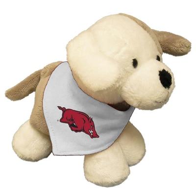 University of Arkansas 6in Plush Puppy Short Stack with Bandana
