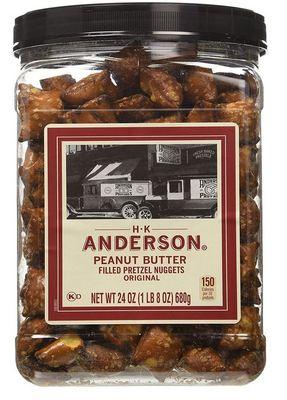 AnderBak - Peanut Butter Pretzel Nuggets