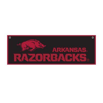 """University of Arkansas 12"""" x 36"""" Felt Banner"""