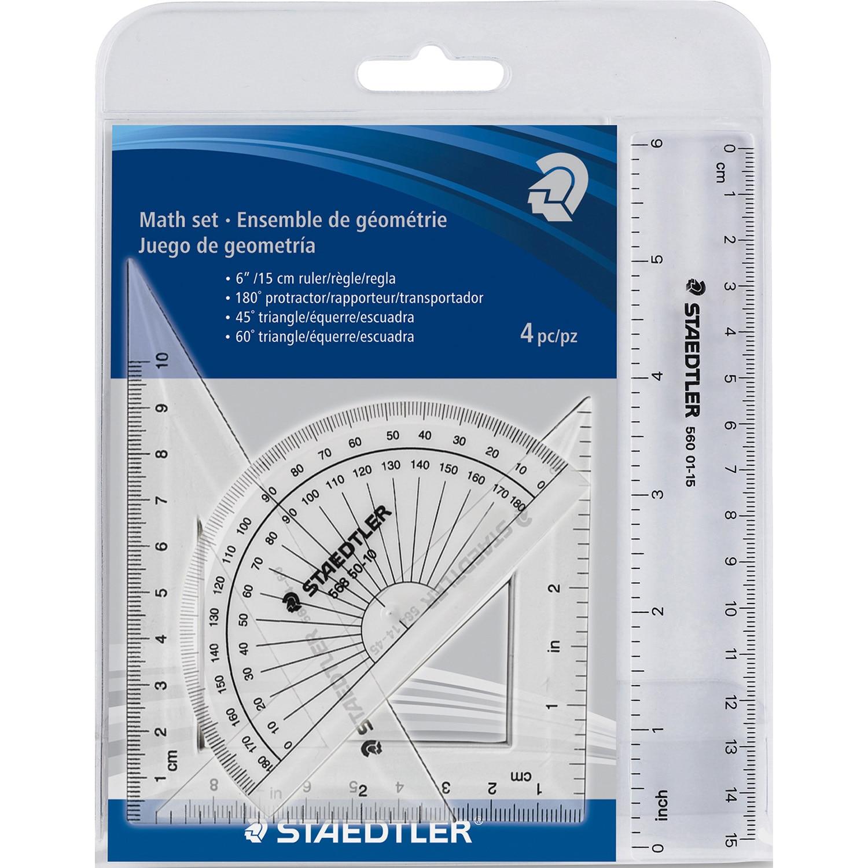 Staedtler 4 Piece Math Set