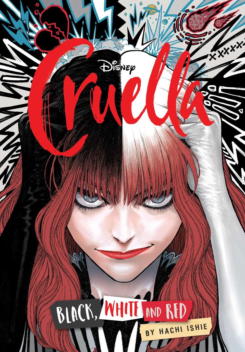 Disney Cruella: The Manga: Black  White  and Red