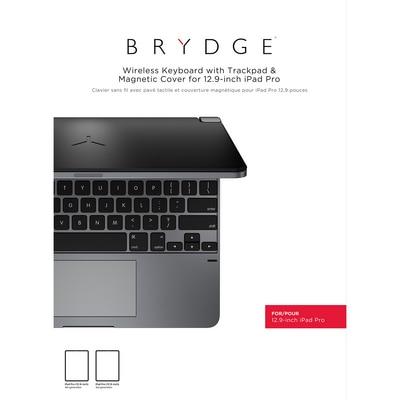 Brydge 12.9 Alum BT Keyboard SpaceGray