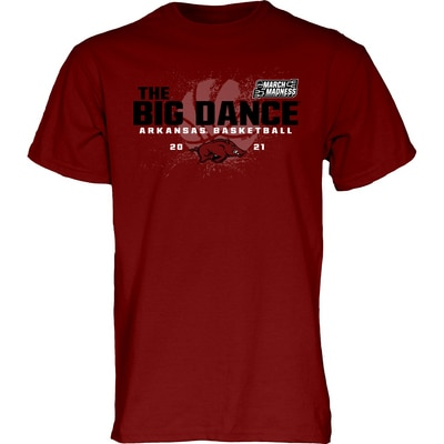 University of Arkansas Blue84 2021 Road to March Madness T Shirt
