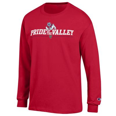 Champion The Bulldog Shop Jersey Crewneck Long Sleeve T-shirt