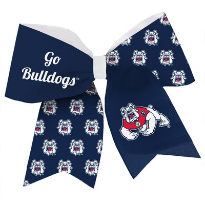 Fresno State Spirit Cheer Gear Ribbon Barrette
