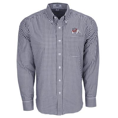 Easy Care Gingham Check Shirt