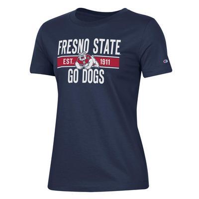 Fresno State Short Sleeve Crewneck T-Shirt