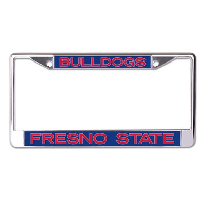 The Bulldog Shop Acrylic License Plate Frame