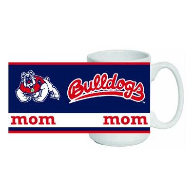 Fresno State 15oz Mom Ceramic Coffee Mug