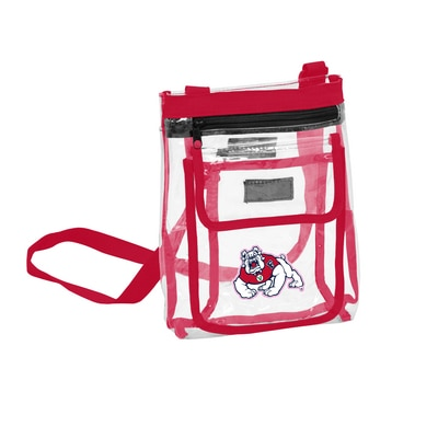 Fresno State Clear Crossbody Tote