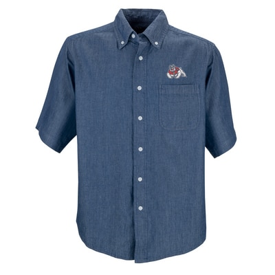Men's Short-Sleeve Hudson Denim Shirt