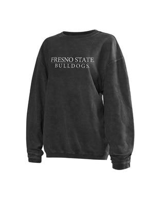 The Bulldog Shop Women's Corded Pullover Sweatshirt