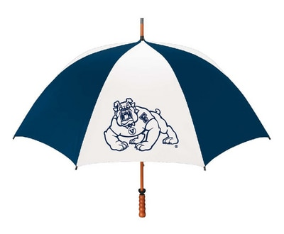 Fresno State Large Golf Umbrella with Wood Shaft