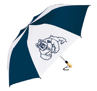 Fresno State Oversized Folding Golf Umbrella