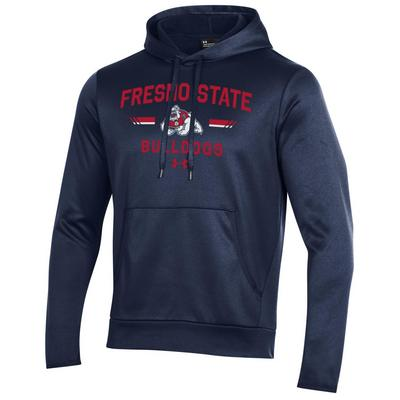 The Bulldog Shop Under Armour Men's Armourfleece Pullover Hoodie