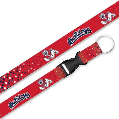 Fresno State Sublimated Lanyard