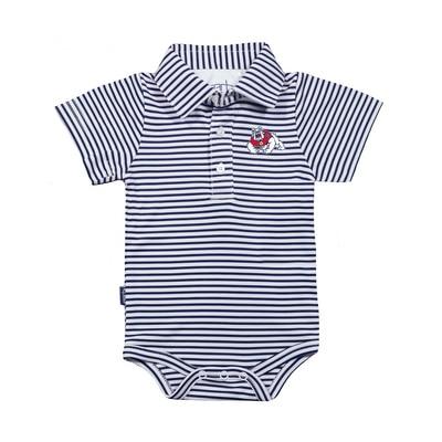 Fresno State Garb Infant Carson Onesie Polo