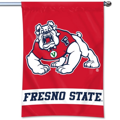 "Fresno State 40""x27"" Durawave Home Banner"