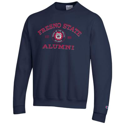 Champion Fresno State Powerblend Fleece Pullover Sweatshirt