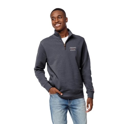 League Mens Stadium Quarter Zip Pull Over