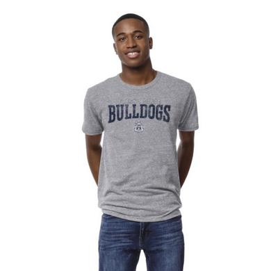 League The Bulldog Shop Victory Falls Triblend Crewneck T-shirt