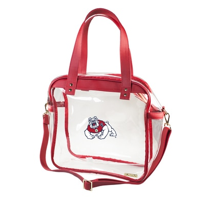 The Bulldog Shop Clear Carryall Tote