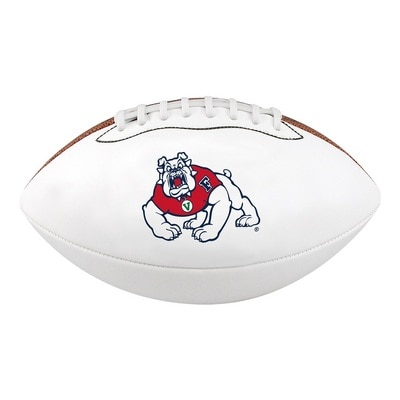 Fresno State Baden Micro 6.5 inch Autograph Football