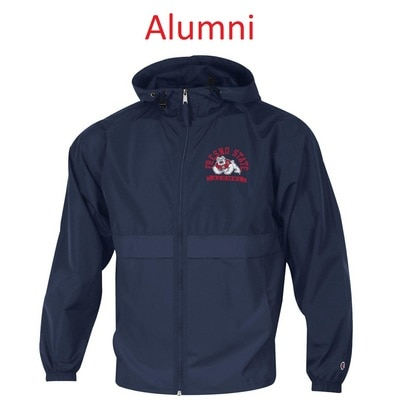 Champion Fresno State Packable Full Zip Jacket