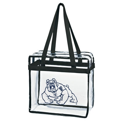 The Bulldog Shop Zipper Stadium Tote