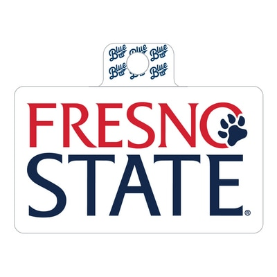 Fresno State Sticker - wordmark