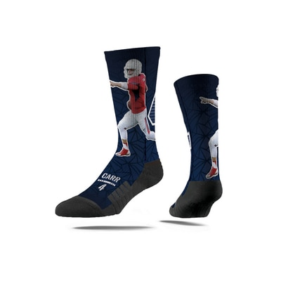 Strideline The Bulldog Shop Derek Carr Sock