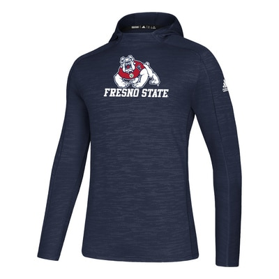 Adidas Fresno State Game Mode Training Hoodie Pullover Sweatshirt