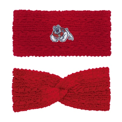 Logofit The Bulldog Shop Adaline Knit Twist Headband