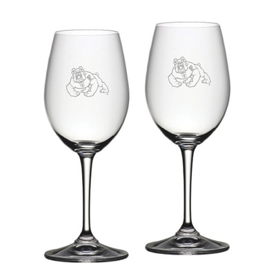 Fresno State Riedel Red Wine Glass 2pk