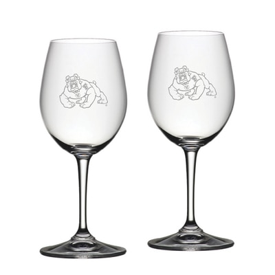 Fresno State Riedel White Wine Glass 2pk