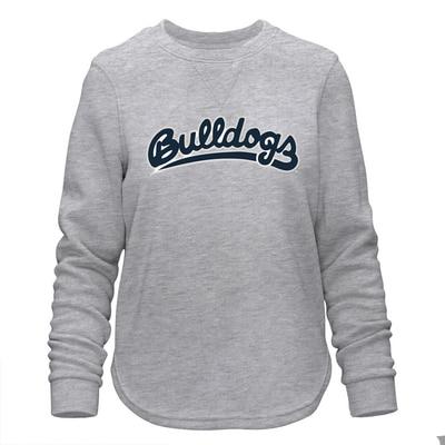 The Bulldog Shop Women's Comfy Pullover Sweatshirt