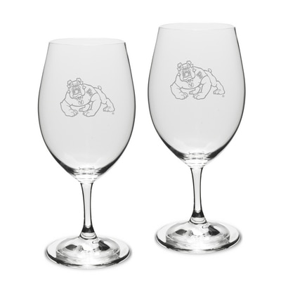 Fresno State Riedel Wine Glass 2pk