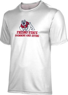 Spectrum Swimming & Diving Unisex 50/50 Distressed Short Sleeve Tee