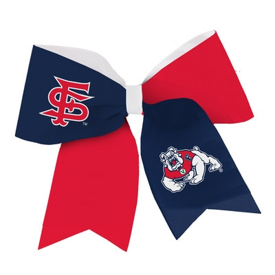 The Bulldog Shop Spirit Cheer Gear Ribbon Barrette