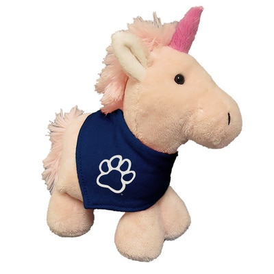 Fresno State 6in Plush Unicorn Short Stack with Bandana