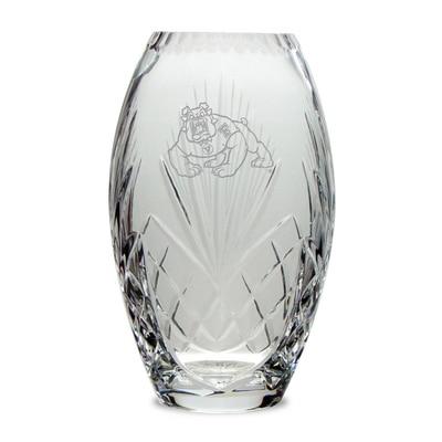 Fresno State Crystal Vase