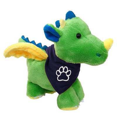 Fresno State 6in Plush Dragon Short Stack with Bandana