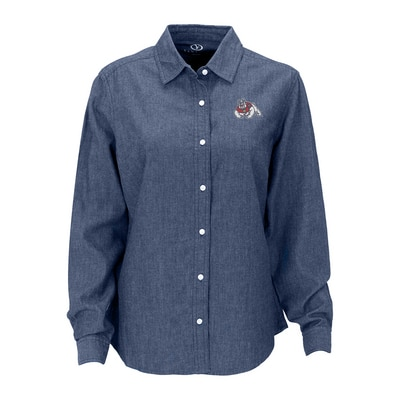 Fresno State Women's Hudson Denim Shirt